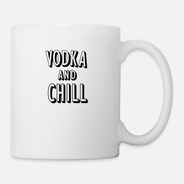 Puns Vodka and Chill pun (pun) - Mug