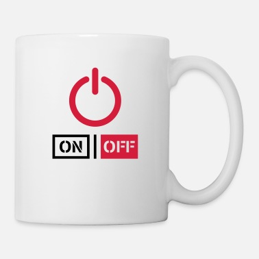 Offline Off On Power Schalter Design - Mug