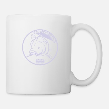 Lac Avec Des Truites Enjoy carp fishing - Purple - Mug