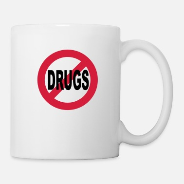 Interdire Non à la drogue - Mug