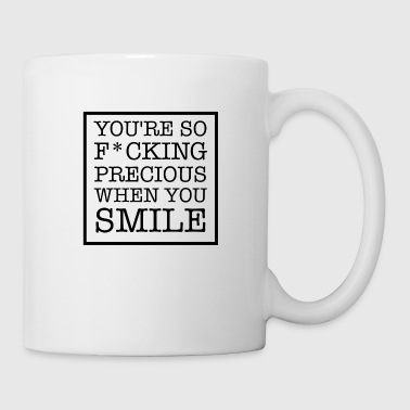 SMILE LYRICS GIFT IDEA - Mug