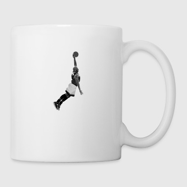 Dunking design created for Basketball fans - Tasse