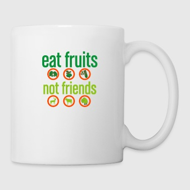 Idea vegetariana del regalo del bienestar animal vegano - Taza