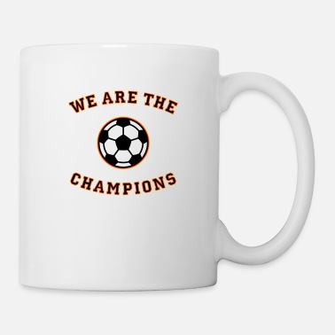 Schland We are the champions (black - red - gold) - Mug