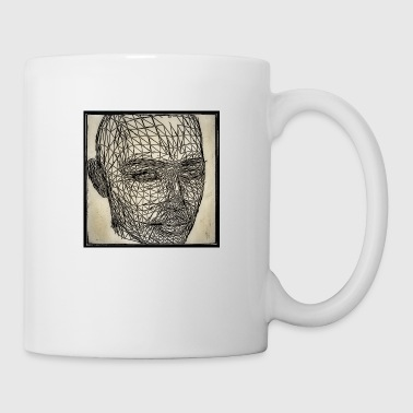 Graphic robot head - Mug