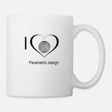 Parametric love parametric design - Mug