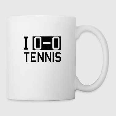 Tennis tennis player tennis court - Mug