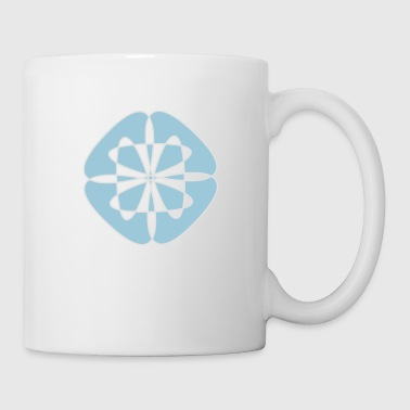 Vêtements rave abstraits - Mug blanc