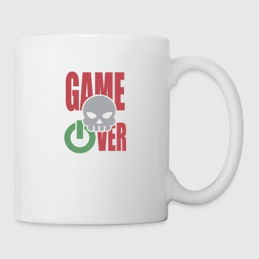 Game Over Stave Skull Skull Powerbutton - Kop/krus