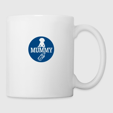 pregnant baby child born birth gift idea - Mug
