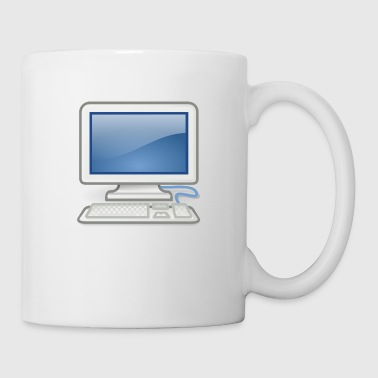 ideal para PC nerds o PC en el amor - Taza