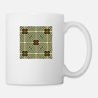 Abstraction abstraction - Mug blanc