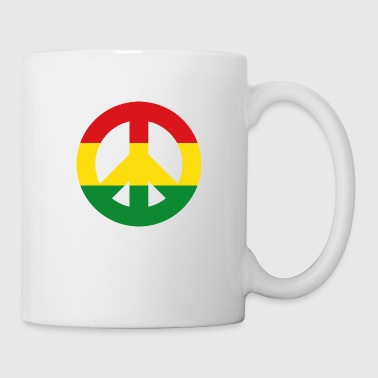 Peace Sign Reggae - Mug