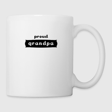 Grandpa family father proudly love grandfather gift - Mug
