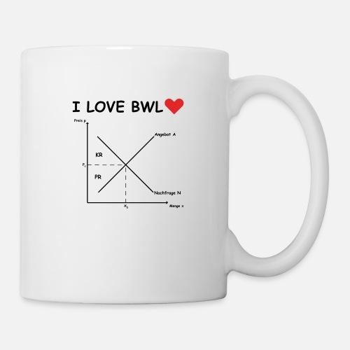 I Love Bwl Angebot Und Nachfrage Tasse Spreadshirt