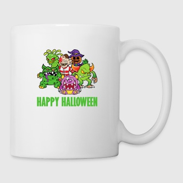 Halloween monster zombie horror skeleton bone - Mug