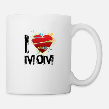 I Love I love mom uk - Mug