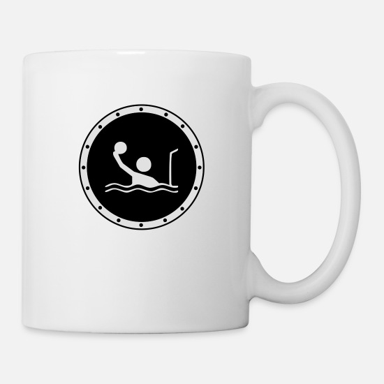 Waterpolo Mugs et récipients - Waterpolo ! - Mug blanc