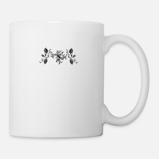 Gift Idea Mugs & Drinkware - Christmas mistletoe - Mug white