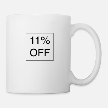 Réduction 11% de réduction - Mug