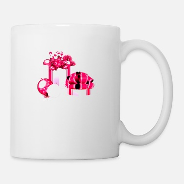 Ornament Christmas Pink Girlie Women Girl Gift - Mug