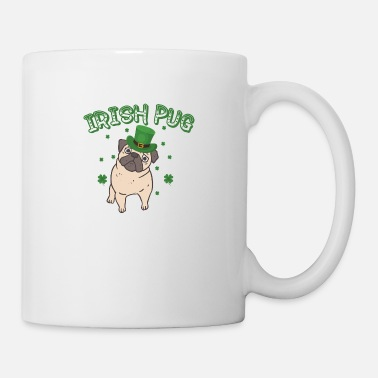 Illustration IRISH PUG - Mug