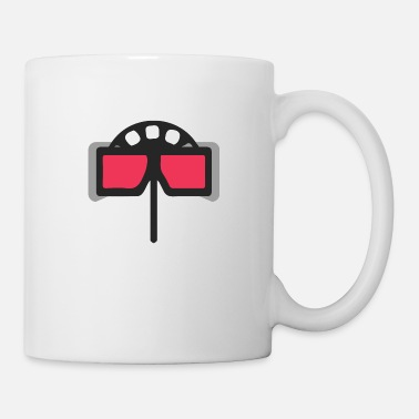 Stereoscopic Flat Design - Stereoscope 3D Viewer Souvenir - Gesc - Mug