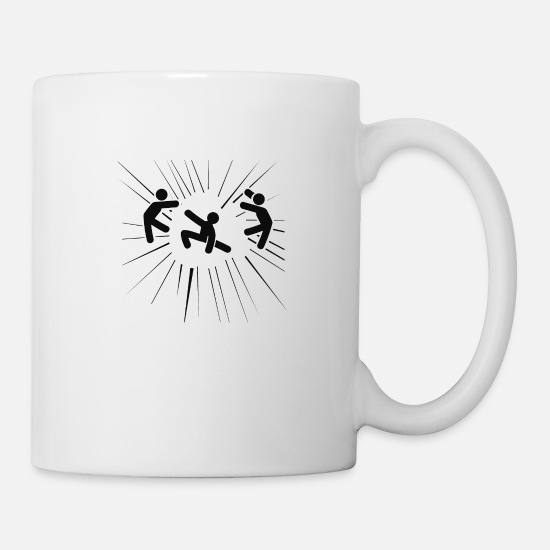 Mma Mugs et récipients - Streetfighter street fighter arts martiaux MMA - Mug blanc