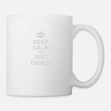 Vinyl Keep Calm And Just Dance - Mug