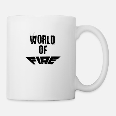 Welt World of fire - Tasse