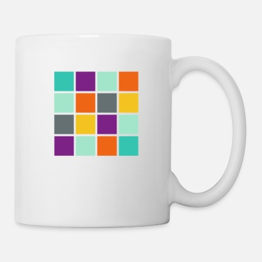 Square Square in square angular - Mug