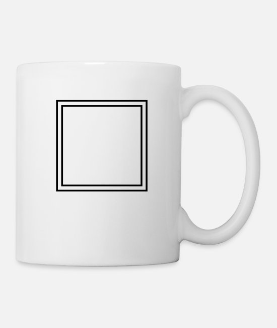 Miscellaneous Mugs & Drinkware - Frame - Mug white