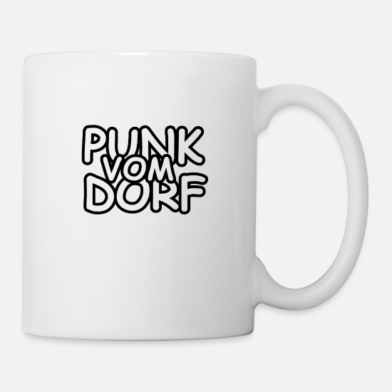 Gift Idea Mugs & Drinkware - Punk from the village - Mug white