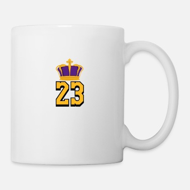 Basketball Number 23 LeBron James - Mug
