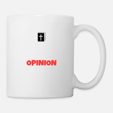 Penguin Bible Not Opinion Church Pastor Christ Gift - Mug