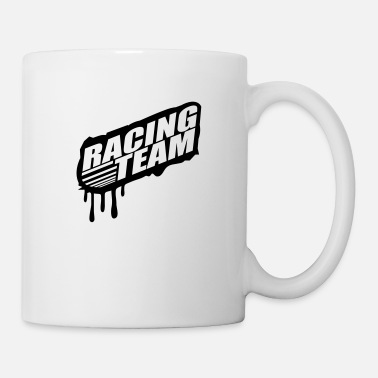 Team Sport Racing Team Graffiti Stamp - Mug