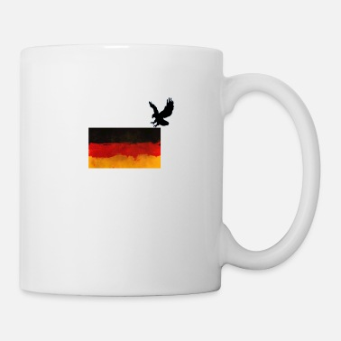 German Eagle German eagle flag - Mug