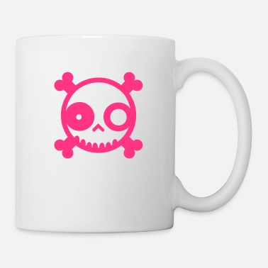 Punks Not Dead Cute Skull - Mug