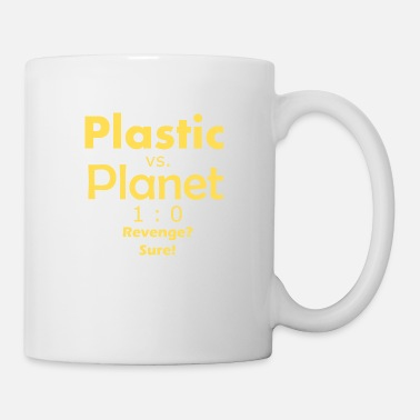 Planet 9 Plast vs. Planet - gul - Krus