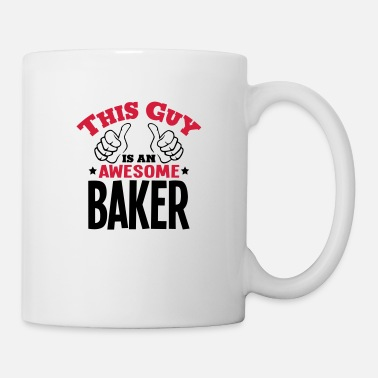 Sponge this guy is an awesome baker 2col - Mug