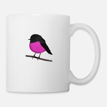 Ornithology jz.birds rosebud bird animal illustration - Mug