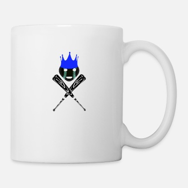 Crown Baseball King - Mug
