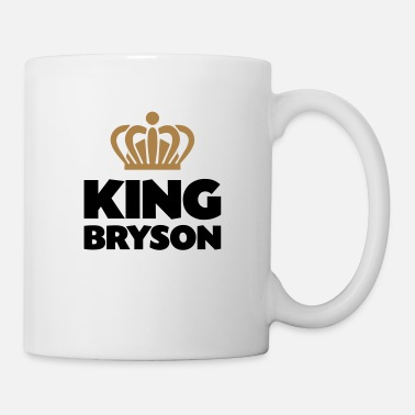 Bryson King bryson name thing crown - Mug