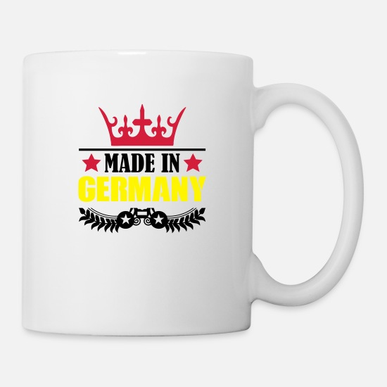 Alemania Tazas y accesorios - made_in_germany_002 - Taza blanco