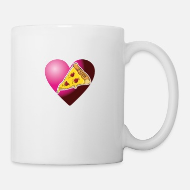 Pizzeria Pizza in the heart - Mug