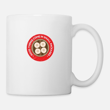 Chinese Eat Good Things come in small packages gift - Mug
