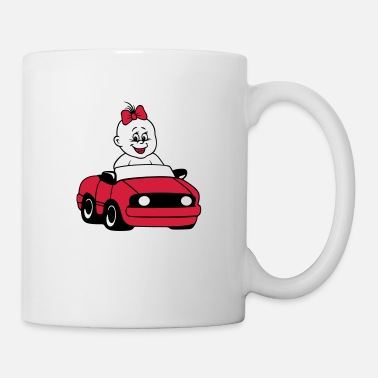 Baby Bump BABY with car - Mug