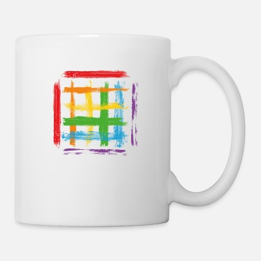 Splatter Paint blob splash paint painter gift colorful stroke - Mug