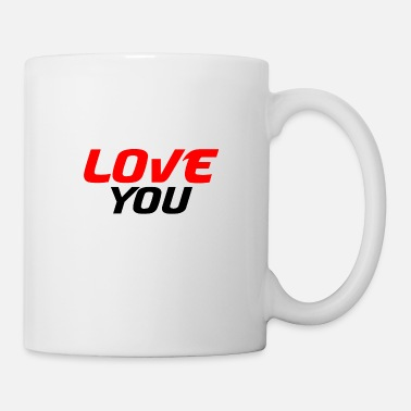 I Heart I love you - Mug