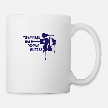 Bass Player You can never have too many guitars rock gift - Mug